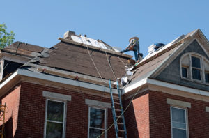 Roof Repair on Historic House