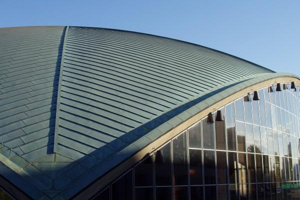 elegant commercial metal roofing