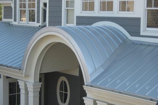 elegant metal roofing residential